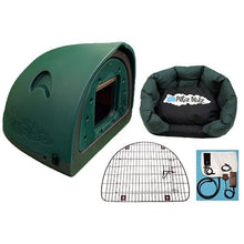 Petz Podz Pet carriers & crates Medium / Green Luxury Revolution MultiPack Dog Den (incl. bed, flap & heated blanket) - by PetzPodz PP-00003 PetsOwnUs - Pets Own Us