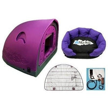 Petz Podz Pet carriers & crates Medium / Purple Luxury Revolution MultiPack Dog Den (incl. bed, flap & heated blanket) - by PetzPodz PP-00003 PetsOwnUs - Pets Own Us