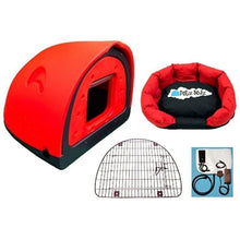 Petz Podz Pet carriers & crates Medium / Red Luxury Revolution MultiPack Dog Den (incl. bed, flap & heated blanket) - by PetzPodz PP-00003 PetsOwnUs - Pets Own Us