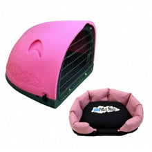 Petz Podz Pet carriers & crates Medium / Pink Puppy Revolution MultiPack Dog Den (incl. bed & cage) - by PetzPodz PP-00001 PetsOwnUs - Pets Own Us