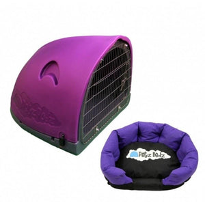 Petz Podz Pet carriers & crates Medium / Purple Puppy Revolution MultiPack Dog Den (incl. bed & cage) - by PetzPodz PP-00001 PetsOwnUs - Pets Own Us