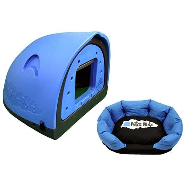 Petz Podz Pet carriers & crates Medium / Blue Revolution MultiPack Dog Den (incl. bed & flap) - by PetzPodz PP-00005 PetsOwnUs - Pets Own Us