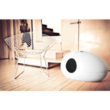 Sin Design Cat Litter Box NO Poopoopeedo Cat Litter Cave & Bed by Sin Design - White PetsOwnUs - Pets Own Us