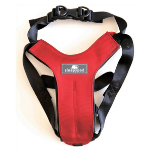 Sleepypod Pet Collars & Harnesses Small Clickit Sport Car Dog Safety Harness by Sleepypod - Strawberry Red PetsOwnUs - Pets Own Us