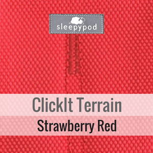 Sleepypod Pet Collars & Harnesses Small / Strawberry Red *NEW Clickit TERRAIN Car Dog Safety Harness by Sleepypod PetsOwnUs - Pets Own Us