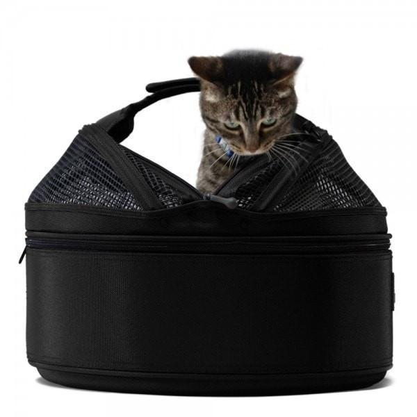 Sleepypod Mobile Cat Carrier & Bed, Jet Black