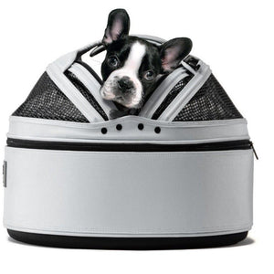 Sleepypod Pet Carrier & Crates Default Title Sleepypod Mobile Pet Bed & Carrier, Arctic White 891093001063-66413 PetsOwnUs - Pets Own Us