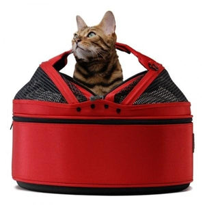 Sleepypod Pet Carrier & Crates Default Title Sleepypod Mobile Pet Bed & Carrier, Strawberry Red PetsOwnUs - Pets Own Us