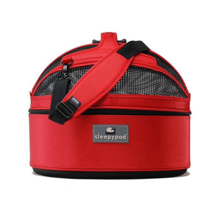 Sleepypod Mobile Pet Bed & Carrier, Strawberry Red