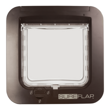 Sure Flap Smart Pet Tech Brown SureFlap Microchip Cat Flap - Door Installation 5060180390112 PetsOwnUs - Pets Own Us