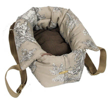 Suzy's Pet Carrier & Crates Small Baroque Luxury Deluxe Pet Carrier Pick n Sleep in Beige by Suzy's 055-0141-BE-S PetsOwnUs - Pets Own Us