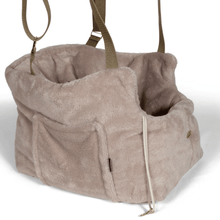 Suzy's Pet Carrier & Crates Small Teddy Bear Luxury Travel Pet Carrier in Beige by Suzy's 069-0138-BE-S PetsOwnUs - Pets Own Us