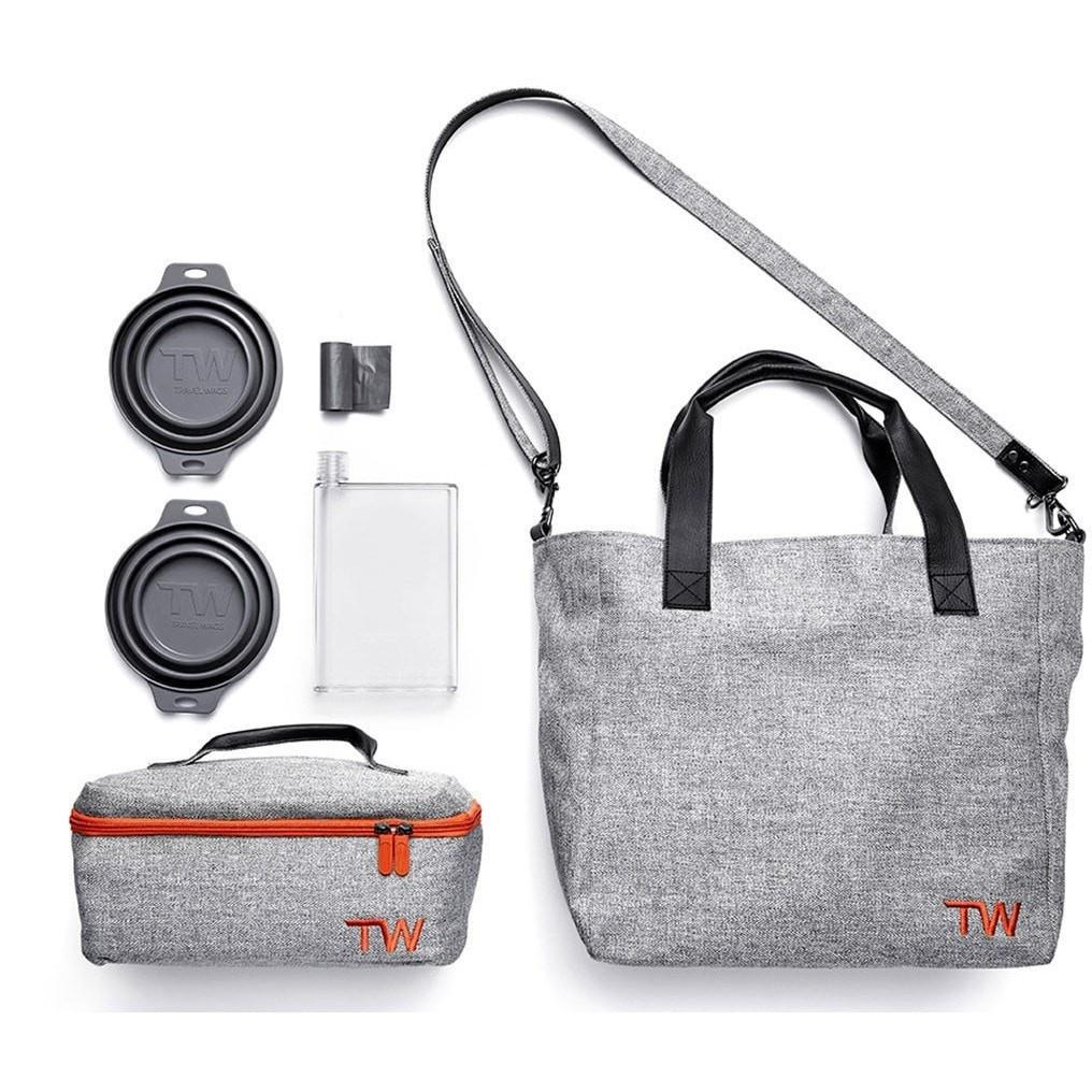 The Weekend Tote Dog Walking Bag Set by Travel Wags - PetsOwnUs