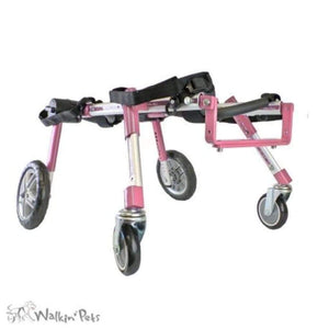 Wheels4Dogs Walkin' Wheels Full Support/4-Wheel MED/LARGE PetsOwnUs - Pets Own Us