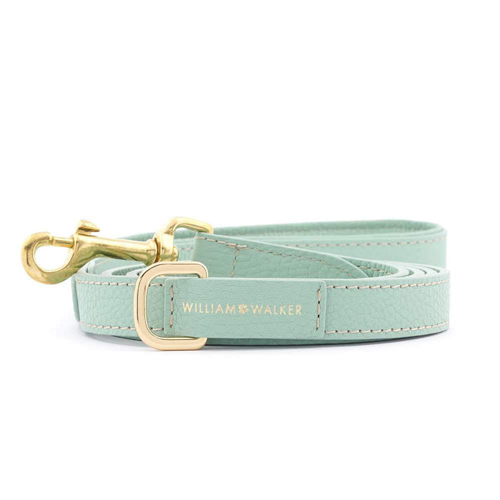 Leather City Dog Leash by William Walker | Nappa | Peppermint