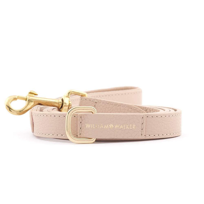 Leather City Dog Leash by William Walker | Nappa | Rose