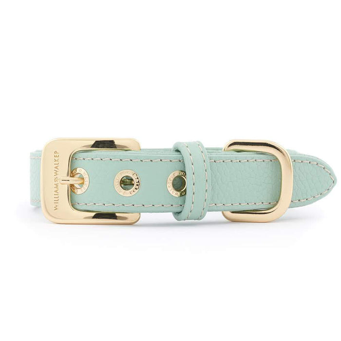 Leather Dog Collar by William Walker | Nappa | Peppermint