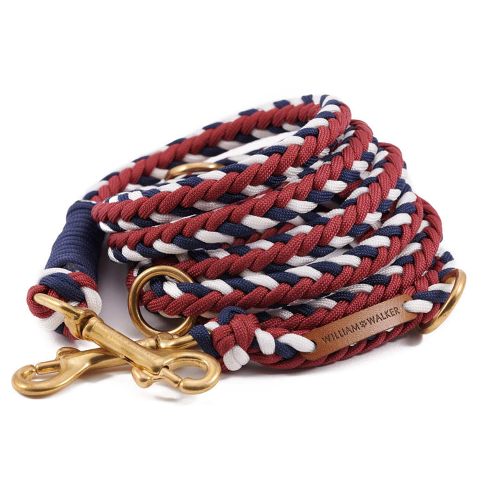Paracord Dog Leash by William Walker - Royal