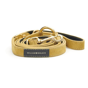 Suede Leather Dog Leash by William Walker - Midnight X Sun Dog Collar & Leash Material_Leather [Suede], Type_Leash William Walker