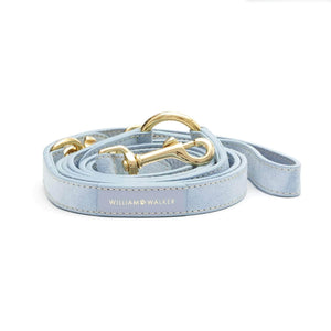 William Walker Dog Collar & Lead Suede Leather Dog Leash by William Walker - Sky PetsOwnUs - Pets Own Us