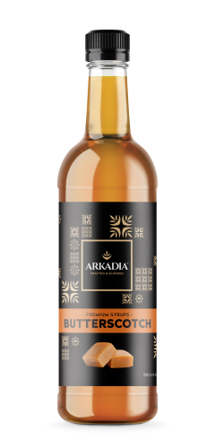 Arkadia Premium Butterscotch Syrup - 750mL