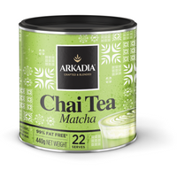 Arkadia Chai Tea Matcha 440gm