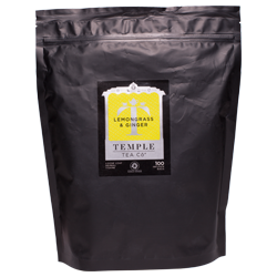 Temple Tea Lemongrass & Ginger Loose Leaf Tea - 500g