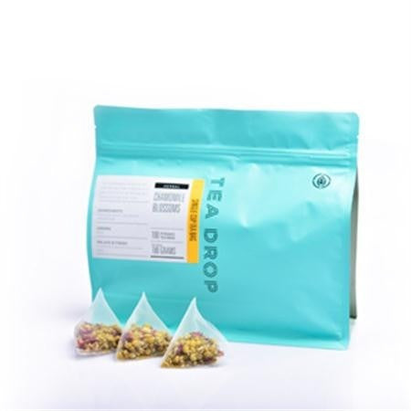 Tea Drop Chamomile Blossoms Pyramid Tea Bags - 100pk