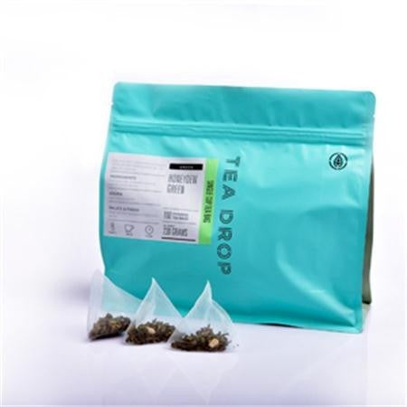 Tea Drop Honeydew Green Pyramid Teabags - 100pk