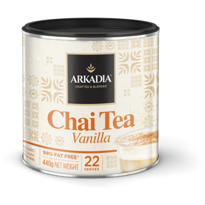 Arkadia Chai Tea Vanilla 440gm