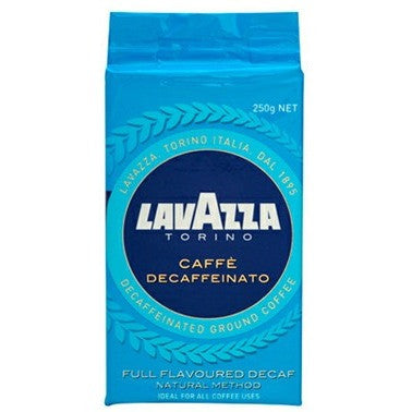 Lavazza Caffe Decaffeinato Ground Coffee 250g