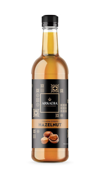 Arkadia Premium Hazelnut Syrup - 750mL