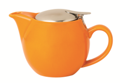Incasa Ceramic Tea Pot - Orange