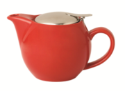 Incasa Ceramic Tea Pot - Red