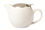 Incasa Ceramic Tea Pot - White