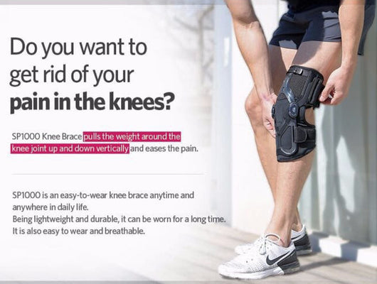 SP1000 - Traction Knee Brace for Sports