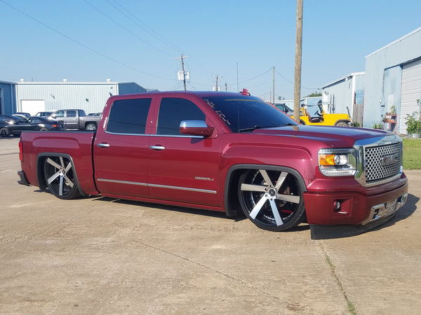 2015-2018 Gmc Denali 4/6 Drop Kit with Magna Ride – Reklez ...