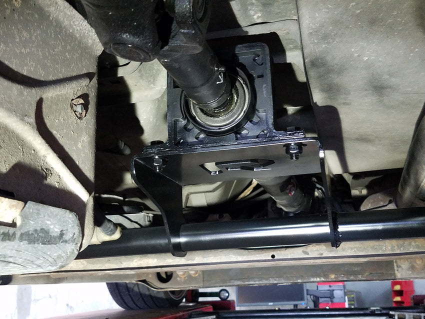 "2002-2007 Silverado Two Piece Drive Shaft ""Racing Application"" with Crossmember"