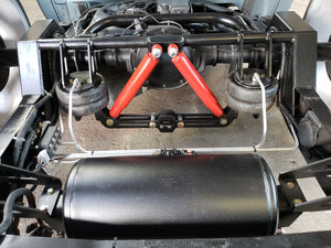 1999-2006 Silverado, Sierra, 3 Link Wishbone, Air Suspension Kit, Billets, Reverse Lip,