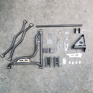 2007-2013 Silverado, Sierra  Rear Coil Over Conversion Kit 3 Link Wishbone For Billet Wheels