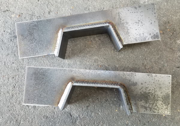 1997-2003 F-150 C Notch, Weld on Kit, Made in the U.S.A Reklez
