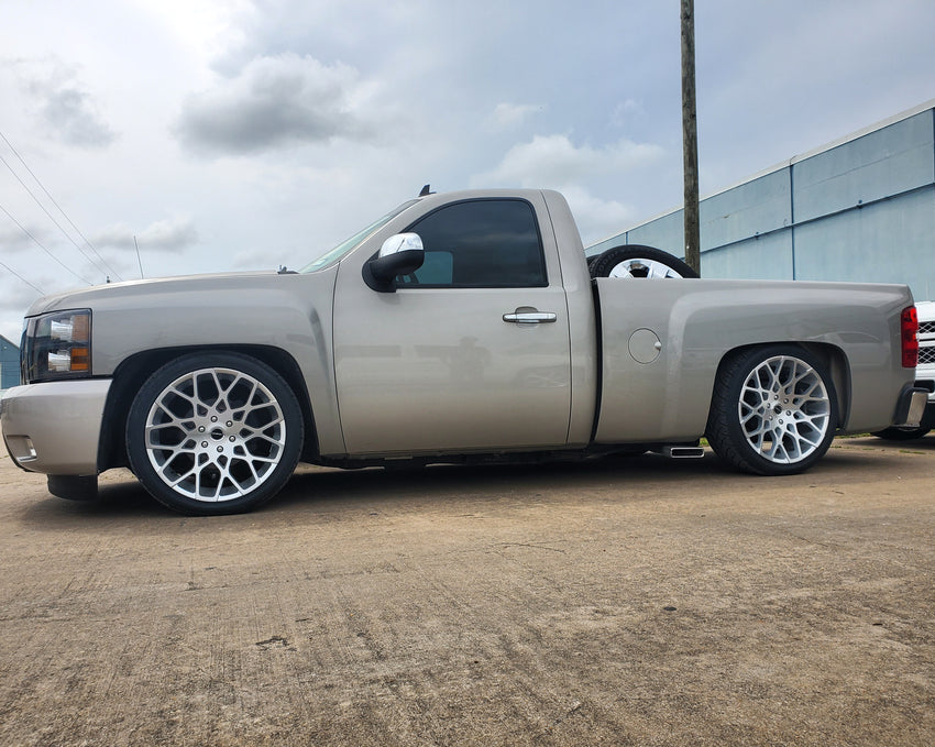 2007-2013 Silverado 5/7 & 5/8 Drop Kit Single Cab, Double Cab, Crew Cab,