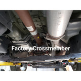 2009-2014 Ford  F150 Raised Transmission Crossmember Lowered or Bagged FX2, EcoBoost