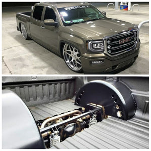 2014-2018 Silverado Sierra Rear Coil Over Conversion Kit 3 Link Wishbone For Billet Wheels