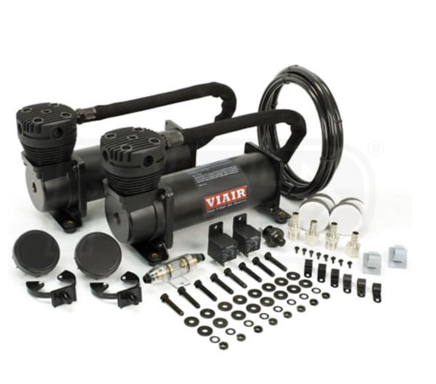 Viair Dual Compressor Kit Stealth Black 480c |Air Suspension Kits