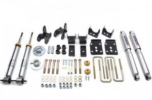 2015-2019 Ford F150 2/4 Drop Kit 2wd & 4x4 All Cabs Belltech with Shocks