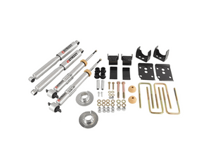 2015-2019 Ford F150 3/5.5 Belltech Drop Kit 1000SP w/ Street Performance Shocks