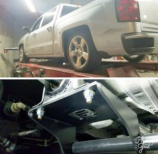 2014-2018 Silverado Sierra Two Piece Drive Shaft Conversion Racing Application with Cross Member