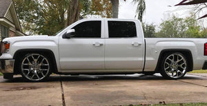 2014-2018 Silverdo 5/7 & 5/8 Drop Kit Single Cab, Double Cab, Crew Cab,