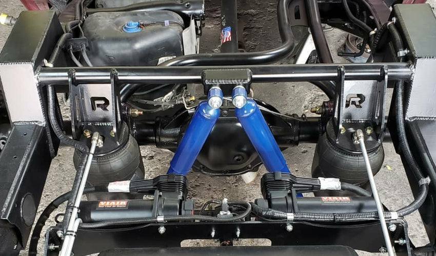 2014-2018 Silverado Sierra Rear Air Bag 3 Link Wishbone Suspension Kit For Regular & Wide Wheels